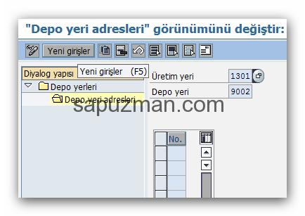 sap_depo_yeri_tanımlama_bakımı_yeni_adres_girisi