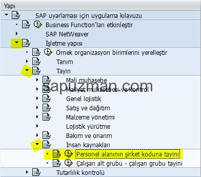 sap_hr_personel_alanının_şirket_koduna_tayini