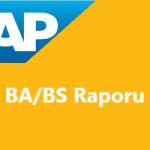 BA/BS Raporu Nasıl Çalışır? BA/BS Raporunun Çalışma Mantığı Nasıldır?
