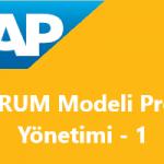 Scrum Modeli Proje Yönetimi Konu-1