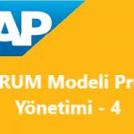 Scrum Modeli Proje Yönetimi Konu-4