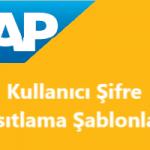 SAP Kullanıcı Şifre Kısıtlamaları Nasıl Yapılır?