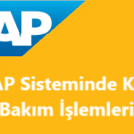SAP Kur Bakım İşlemleri - TCURR Tablosu Bakımı