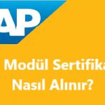 SAP Modül Sertifikası Nasıl Alınır?
