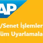 SAP Sisteminde Çek ve Senet İşlemleri (SAP_ICC_TURKEY)