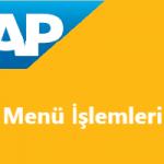 SAP Menü Ekranını Başlangıç Ekranına Nasıl Çevirebilirim?