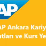 Ankara SAP Danışmanlık Firmaları, Ankara'da SAP Kullanan Firmalar ve Ankara'da Bulunan SAP Kursları ve Eğitim Kurumları