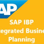 SAP IBP Integrated Business Plannig – Entegre İş Planlaması Nedir?