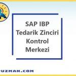SAP IBP - Tedarik Zinciri Kontrol Merkezi