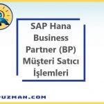 SAP S4/HANA Sisteminde BP(Business Partner) İşlem Kodu ile Satıcı ve Müşteri Olan Bir Cari Yaratma